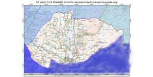 Catchment map
